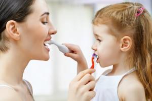 cepillado dental en el niño